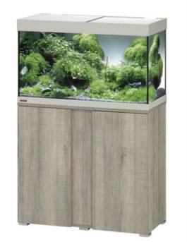 EHEIM SET VIVALINE 126 LED 81X36X119 CM GRIJS/EIKEN 13W De Eheim Vivaline Led serie kan perfect aan uw interieur worden aangepast door het feit dat het decorpaneel in het meubel verwisselbaar is. Daarmee wordt uw aquarium zo individueel als u wilt. Kleur: Grijs-Eiken, Wit, Antraciet Inhoud: ca. 126 L; Grootte aquarium: 80 x 35 x 45 cm Inclusief: 1 x 10,6 W Classic Led Day 1x Eheim Binnenfilter Biopower 160 (2411); 1x Jäger verwarmer 100 W Alleen als set verkrijgbaar; Grootte set: 81 x 36 x 119 cm