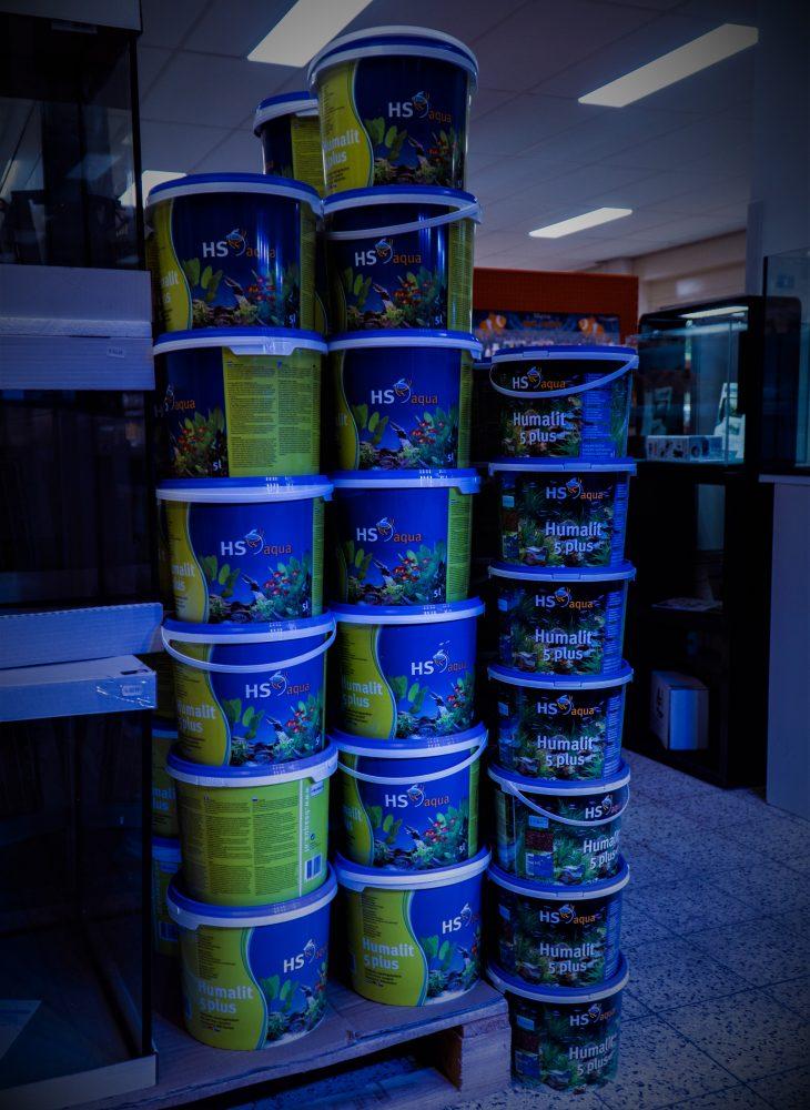 voedingsbodem aanbrengen aquarium